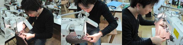 信頼のある国内の縫製工場でひとつひとつ丁寧に生産