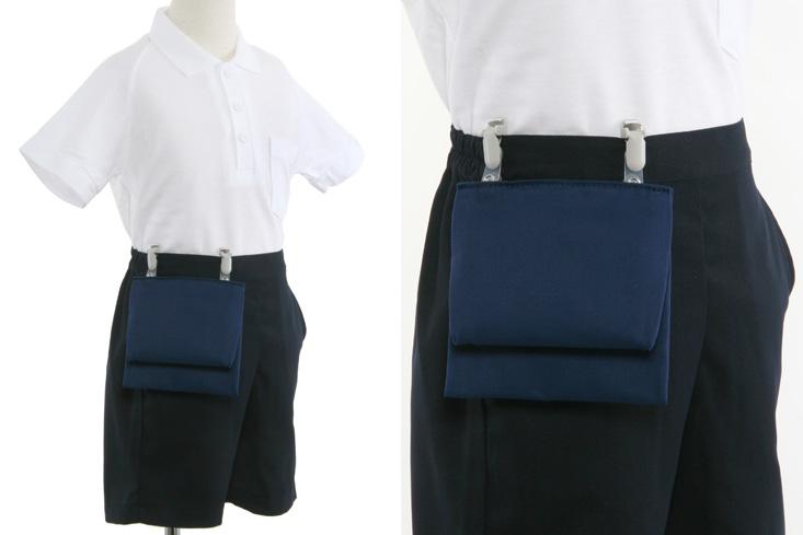 かぶせ型付けポケット