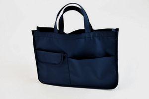 紺色ナイロン製レッスンバッグ