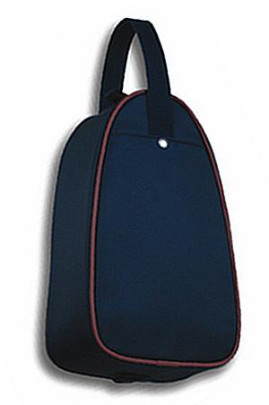 紺色ナイロン製・シューズバッグ